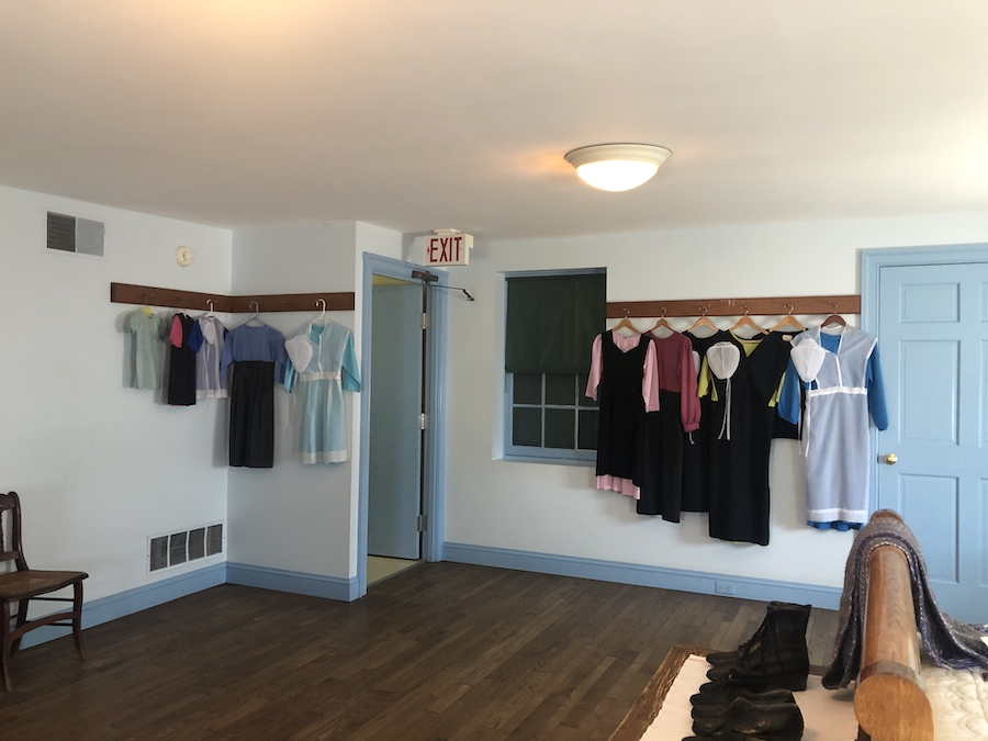 The guided house tour of an Amish home in Lancaster.