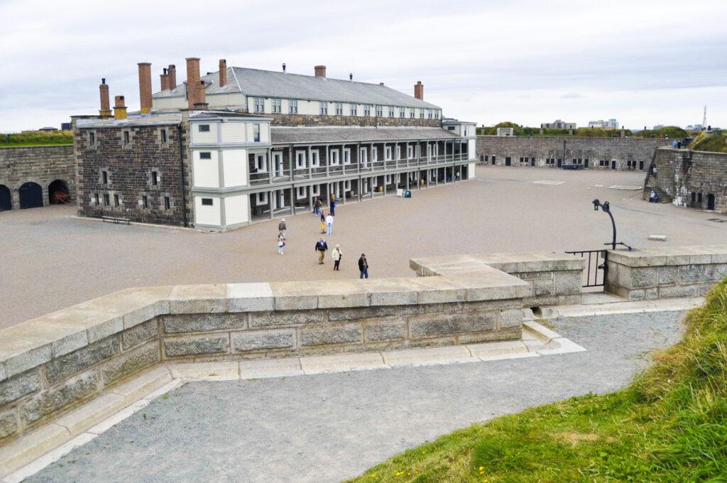 The Halifax Citadel National Historic Site.