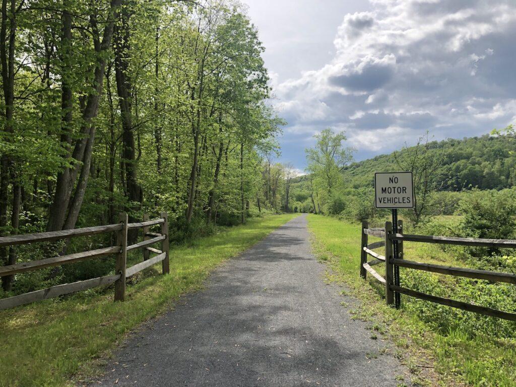 The HandBT Trail in Bedford County, Pennsylvania.