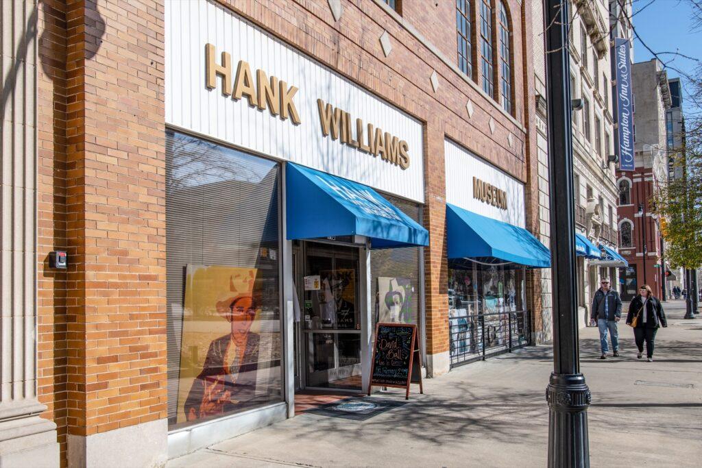 The Hank Williams Museum in Montgomery.