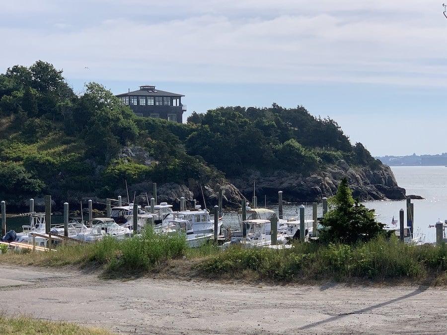 The harbor at historic Jamestown in Rhode Island.