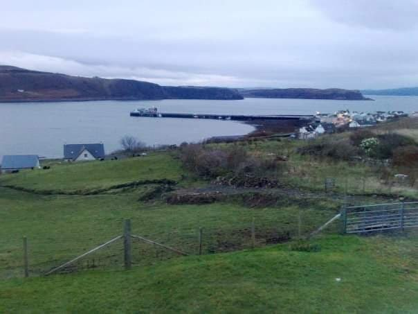 The harbor at Uig on the Isle of Skye.