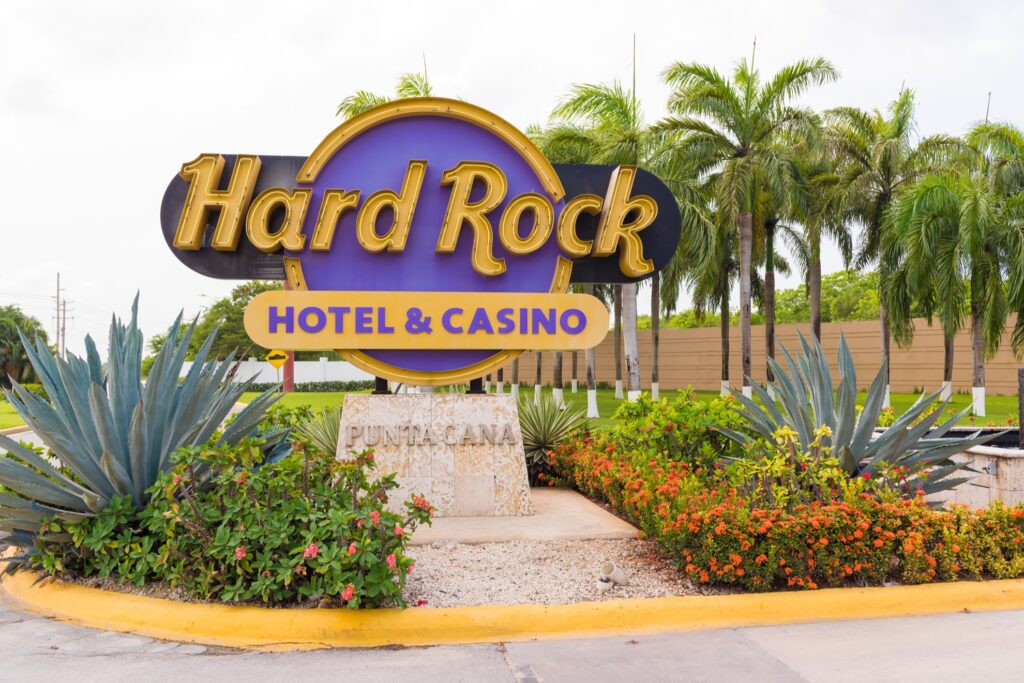 The Hard Rock Hotel And Casino in Punta Cana.
