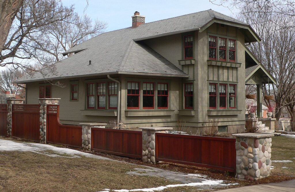 The Harold Doyle House in the National Register of Historic Places.