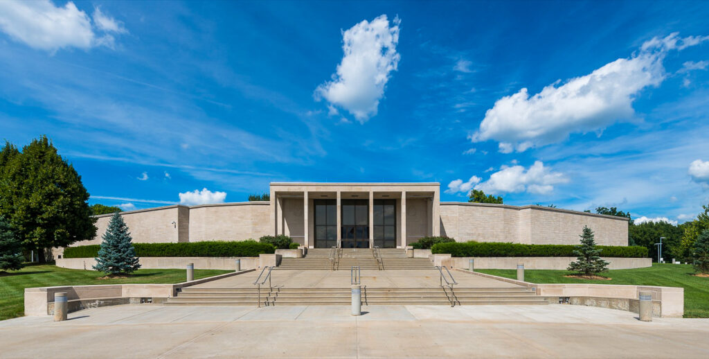 The Harry S. Truman Presidential Library in Kansas City