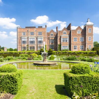 The Hatfield House in Hertfordshire, England.