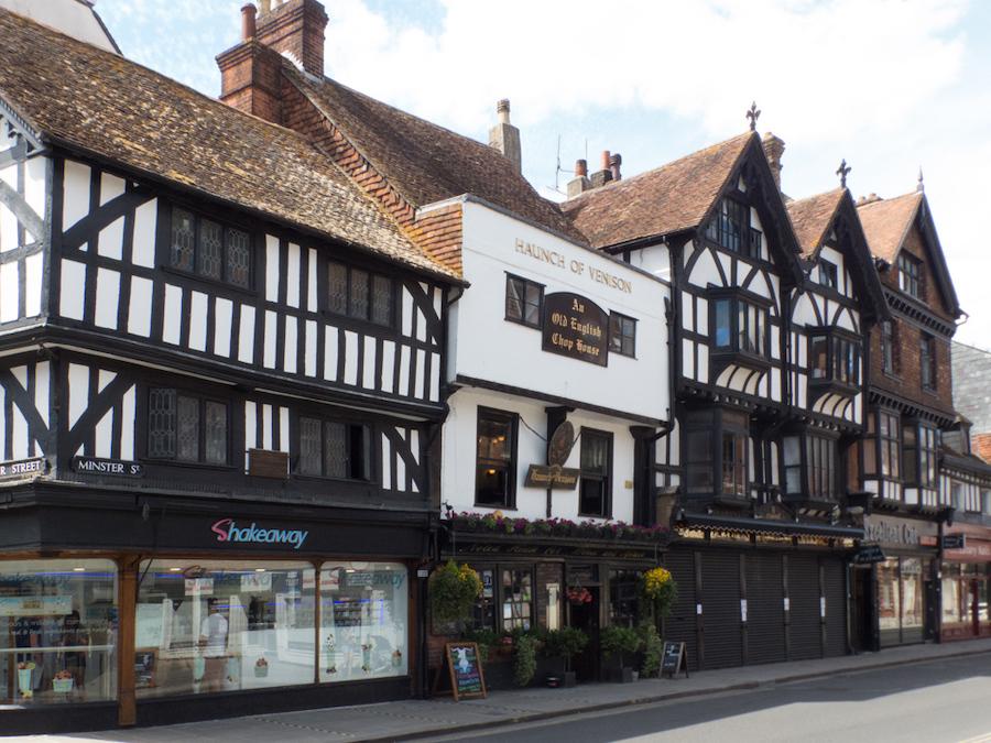 The Haunch of Venison in Salisbury, England.