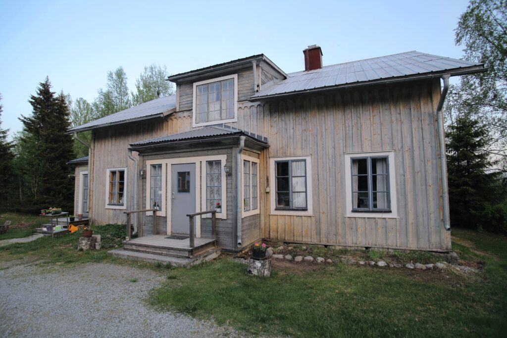 The Haunted Vicarage in Sweden.