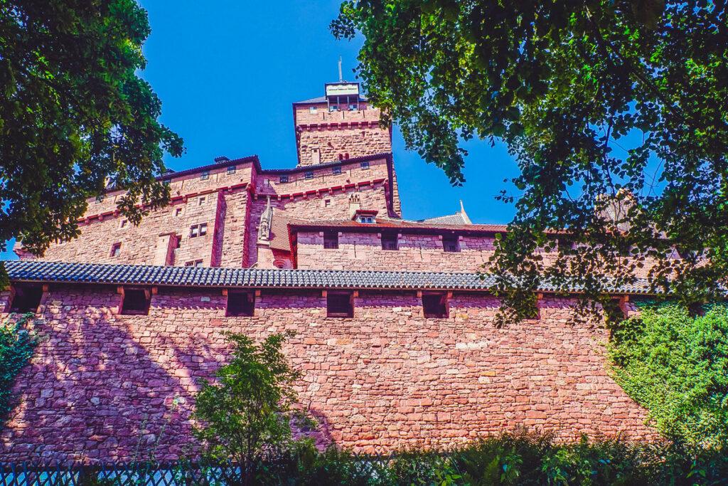 The Haut-Koenigsbourg Castle in France.