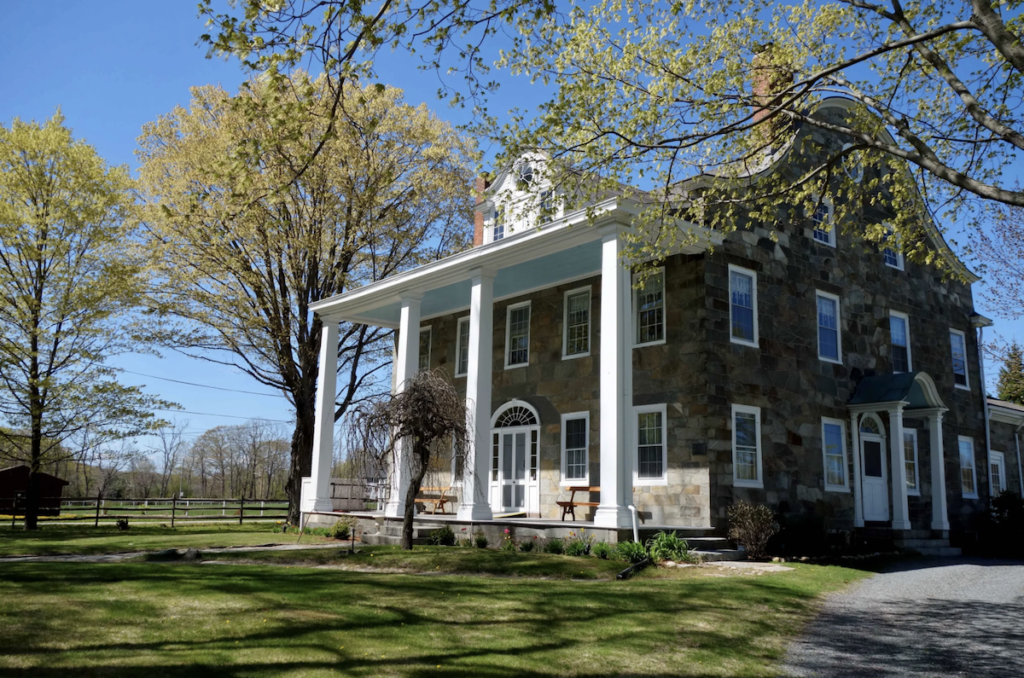 The Hearthside House in Lincoln, Rhode Island.