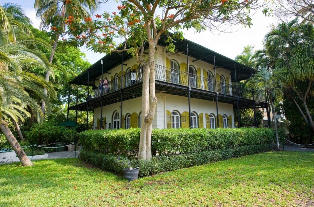 The Hemingway Home on Key West.
