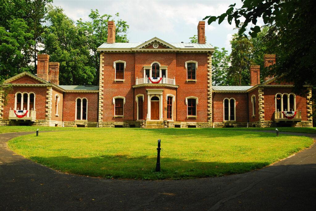 The Henry Clay Estate in Lexington, Kentucky.