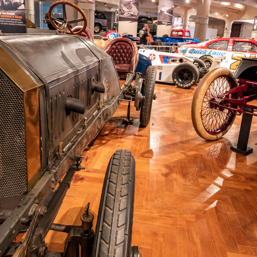 The Henry Ford museum in Detroit.