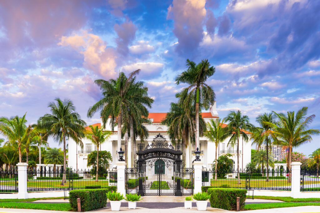 The Henry Morrison Flagler Museum in West Palm Beach.
