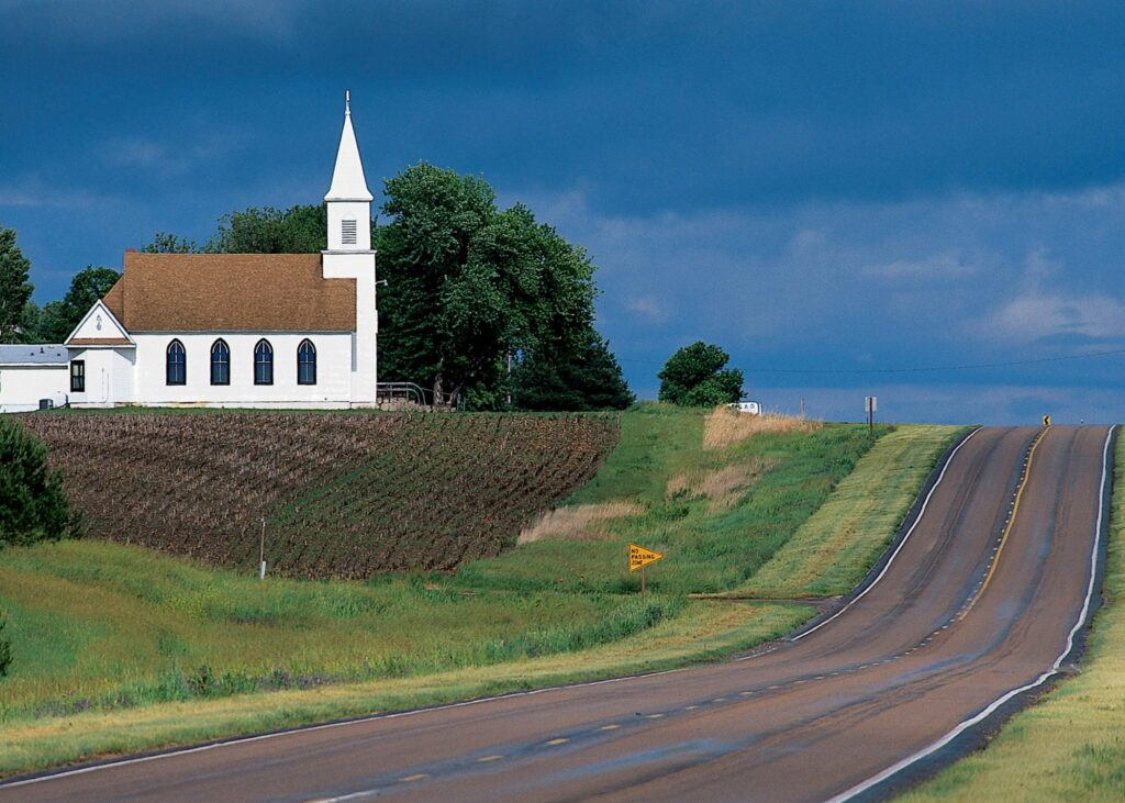 The Heritage Highway Scenic Byway.
