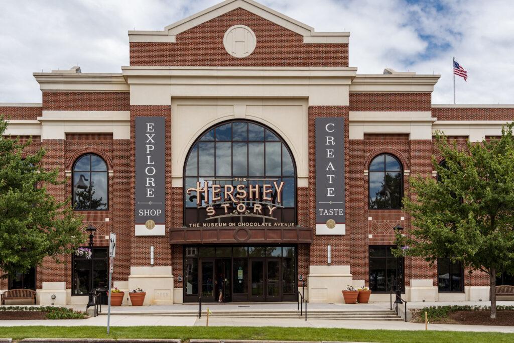 The Hershey Story Museum in Hershey, Pennsylvania.