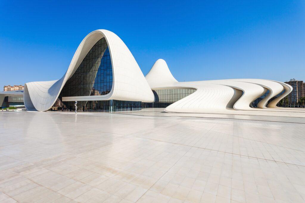 The Heydar Aliyev Center in Baku.