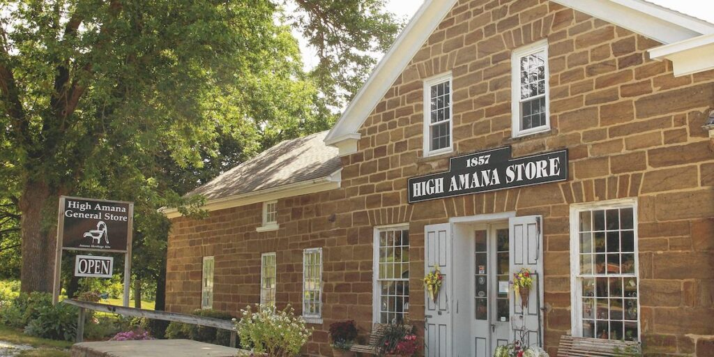 The High Amana General Store in Iowa.