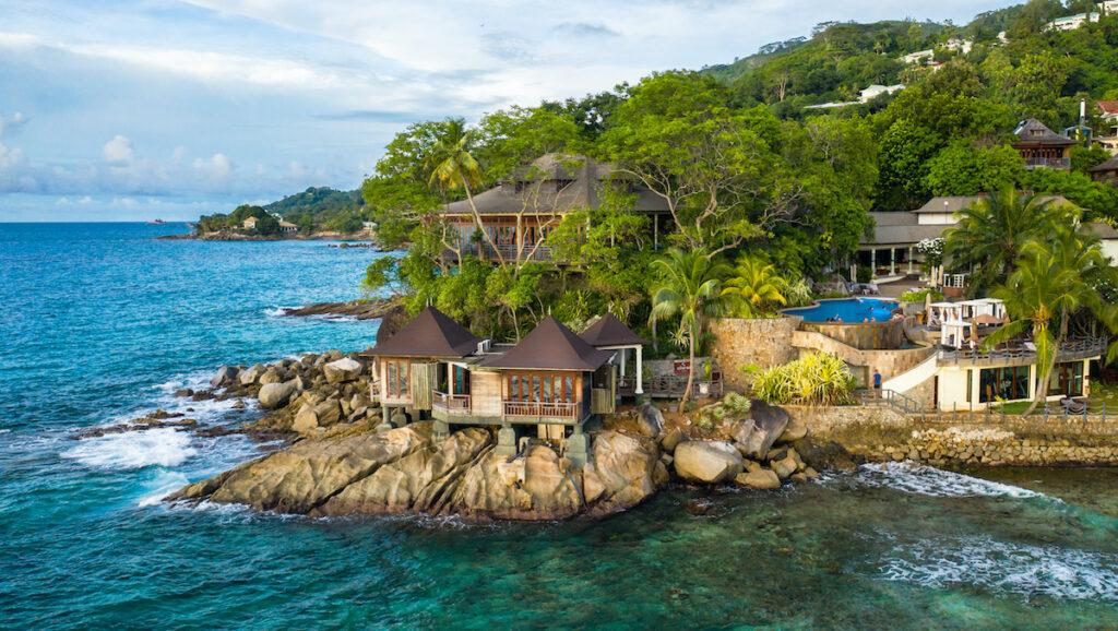 The Hilton Seychelles Northolme Resort in the Seychelles.
