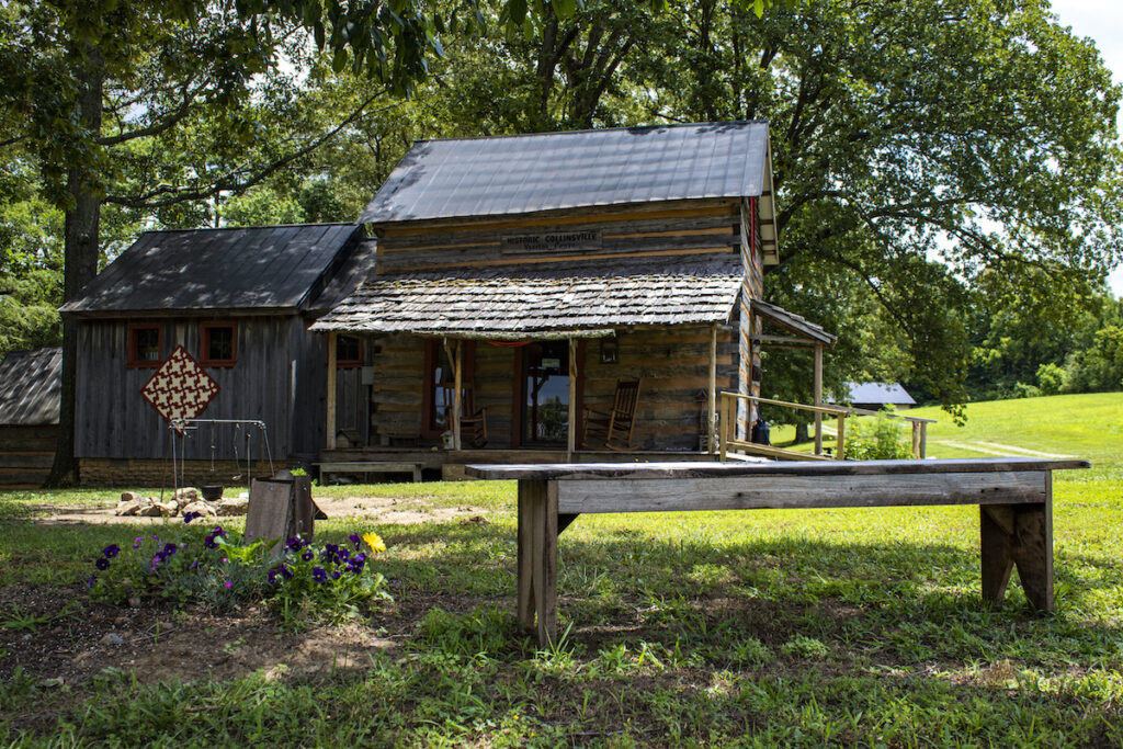 The Historic Collinsville Visitors Center in Tennessee.