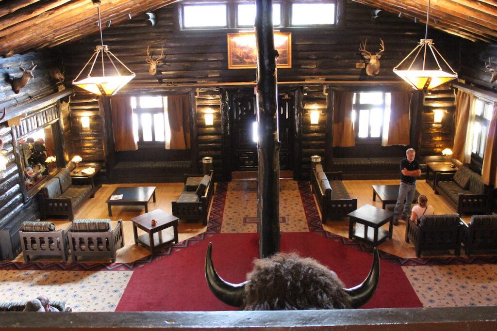 The historic El Tovar Hotel at the Grand Canyon.