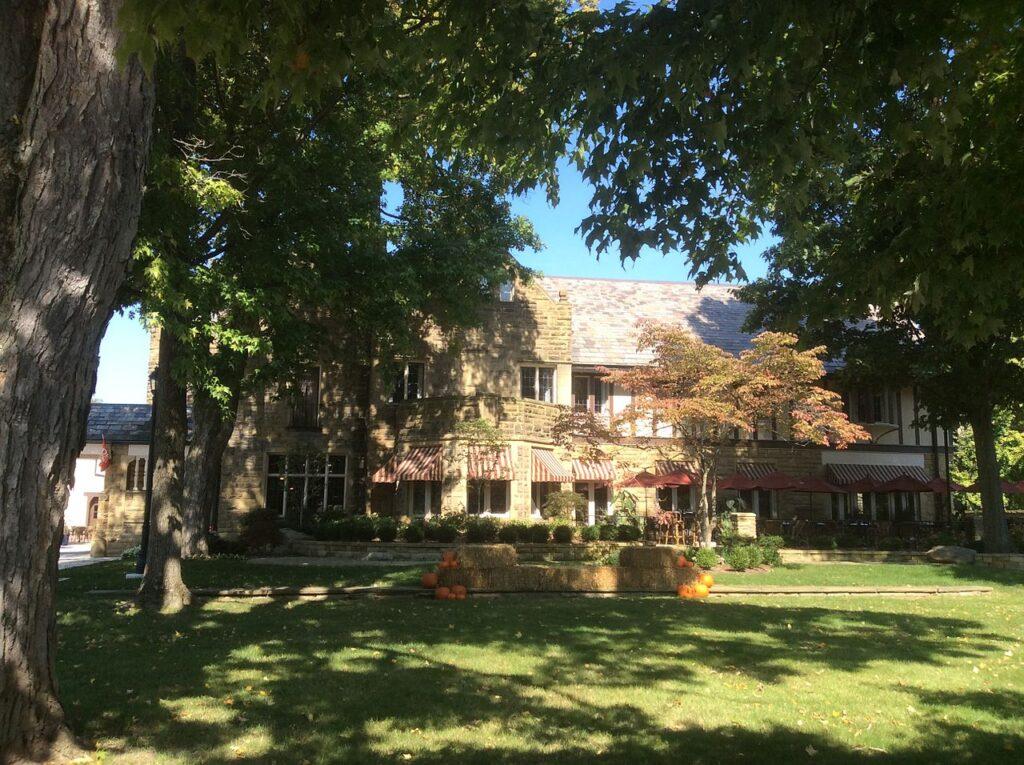 The historic Granville Inn in Ohio.