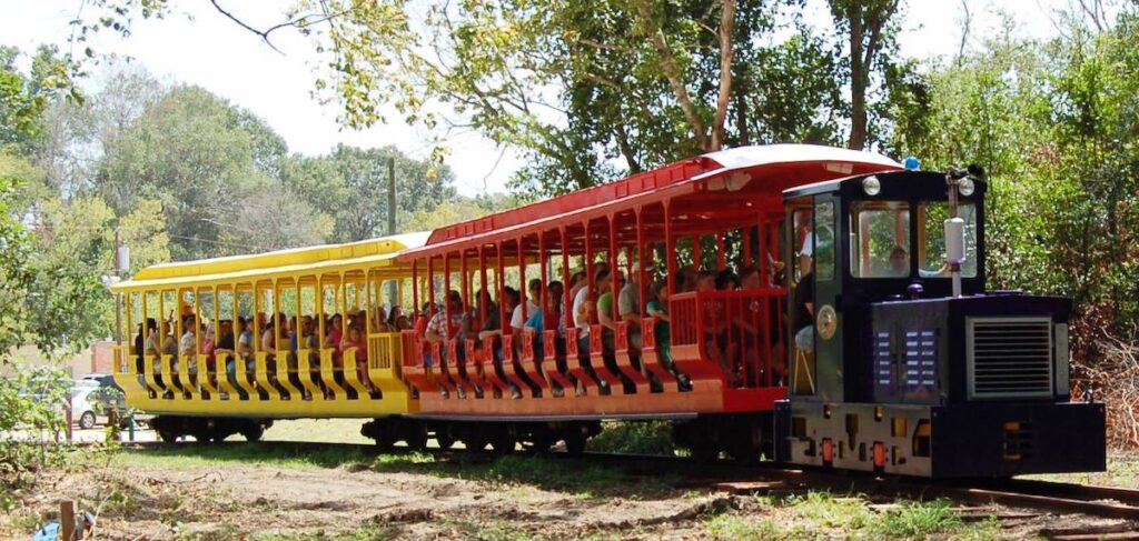 The Historic Jefferson Railway in Texas.