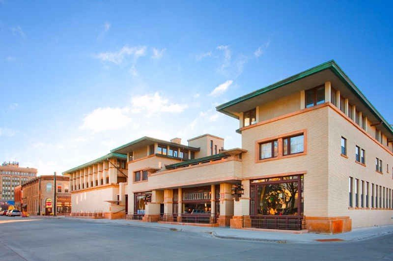 The Historic Park Inn, designed by Frank Lloyd Wright.