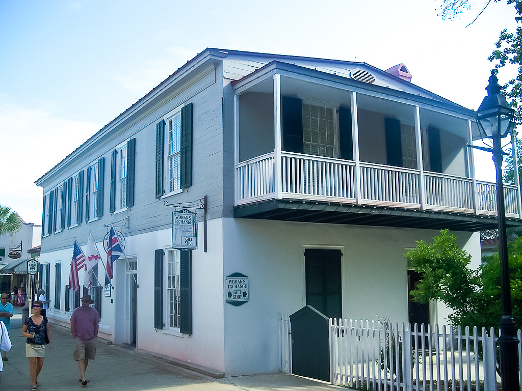 The historic Peña-Peck House.