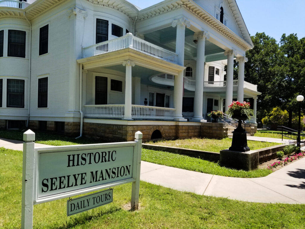 The Historic Seelye Mansion and Gardens.