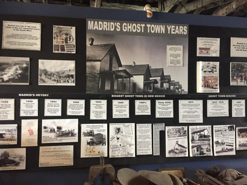 The history of Madrid as a ghost town.