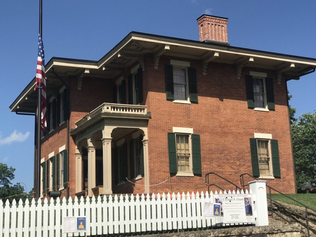 The home of Ulysses S. Grant in Galena.
