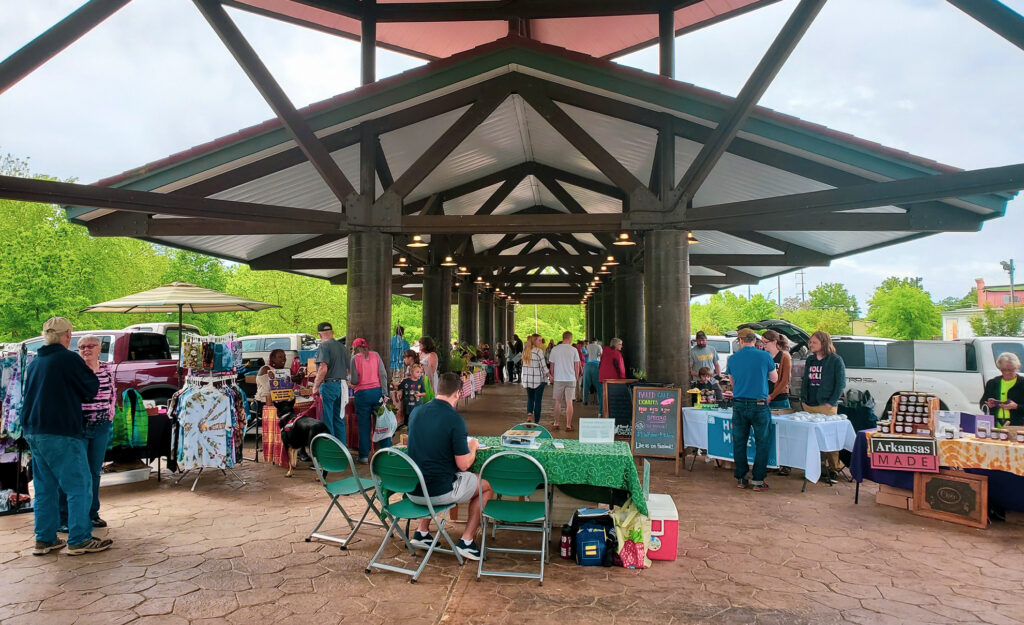 The Hot Springs Farmers and Artisans Market.