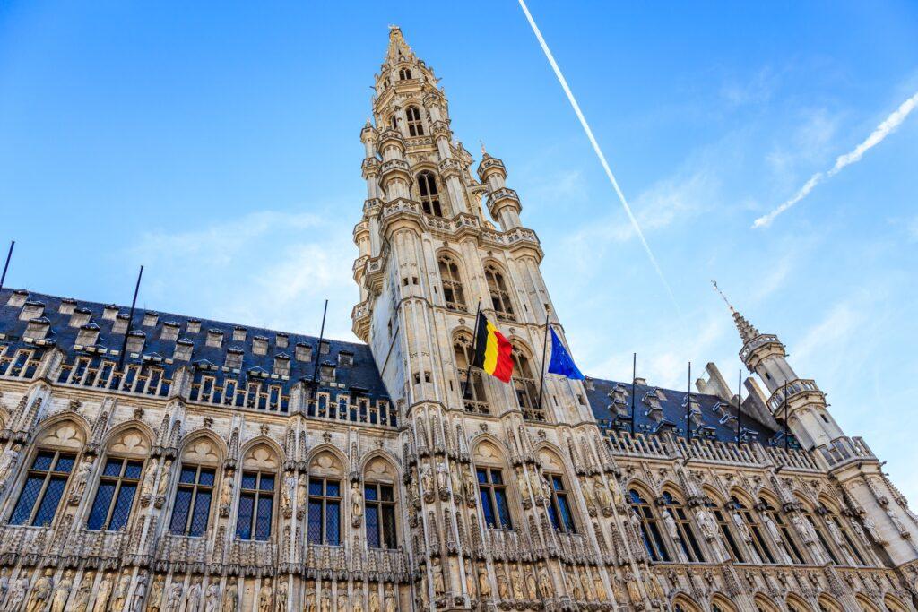 The Hotel De Ville in Brussels.