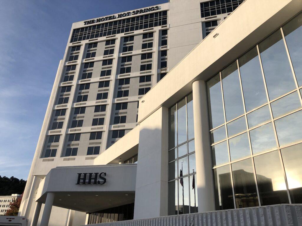 The Hotel Hot Springs in Arkansas.