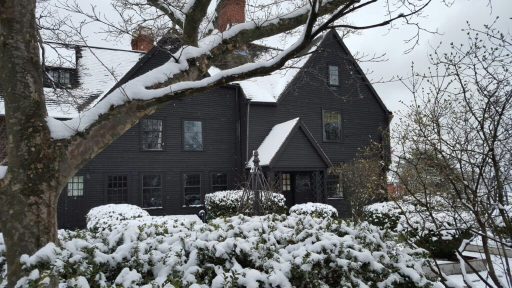The House of the Seven Gables in Salem.