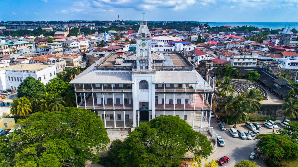 The House Of Wonders in Stone Town, Zanzibar.