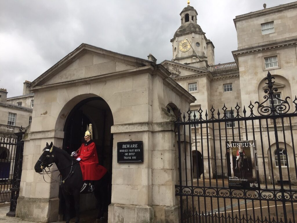 The Household Cavalry Museum in London.