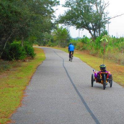 The Hugh S. Branyon Backcountry Trail in Gulf Shores, Alabama.