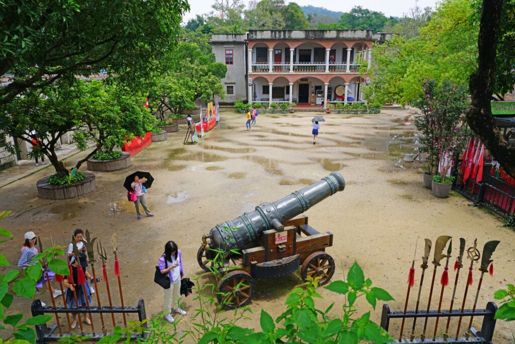 The Hulishan Fort in Xiamen.