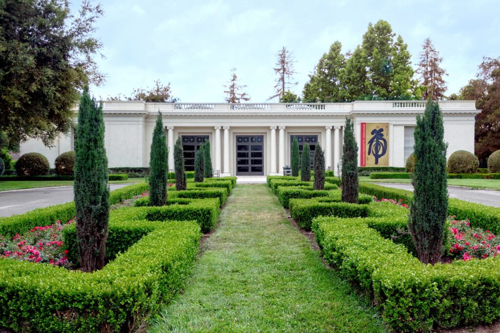 The Huntington Library, Art Museum, and Botanical Gardens.