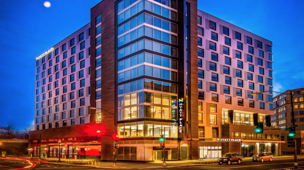 The Hyatt Place hotel in Washington, D.C.
