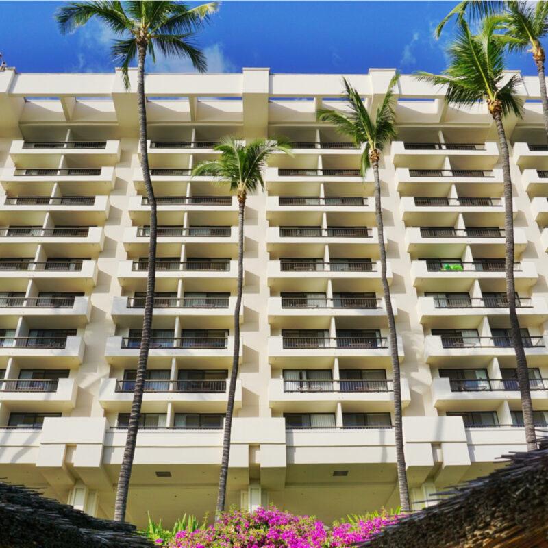 The Hyatt Regency Maui Resort and Spa in Hawaii.