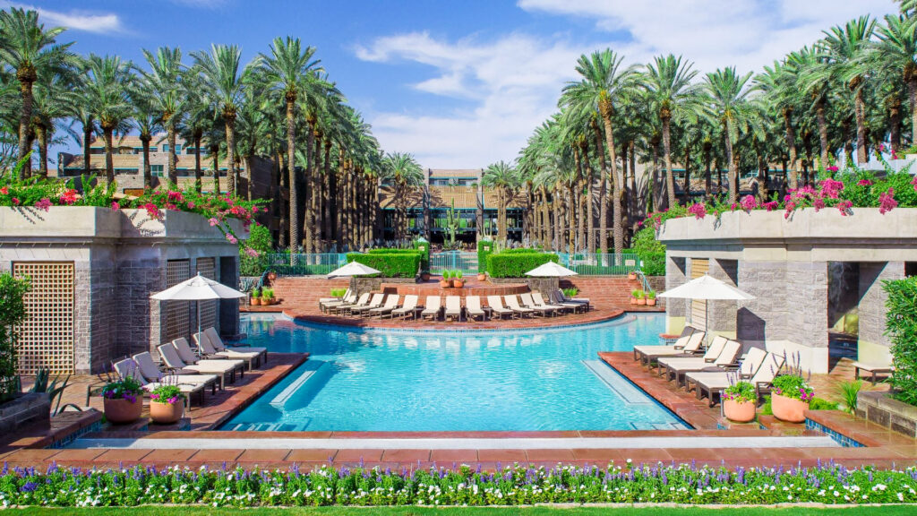 The Hyatt Regency's Scottsdale Resort and Spa at Gainey Ranch.