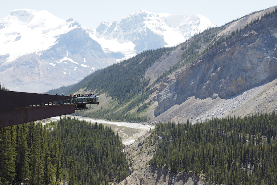 The Icefield Centre and Skywalk in Jasper.