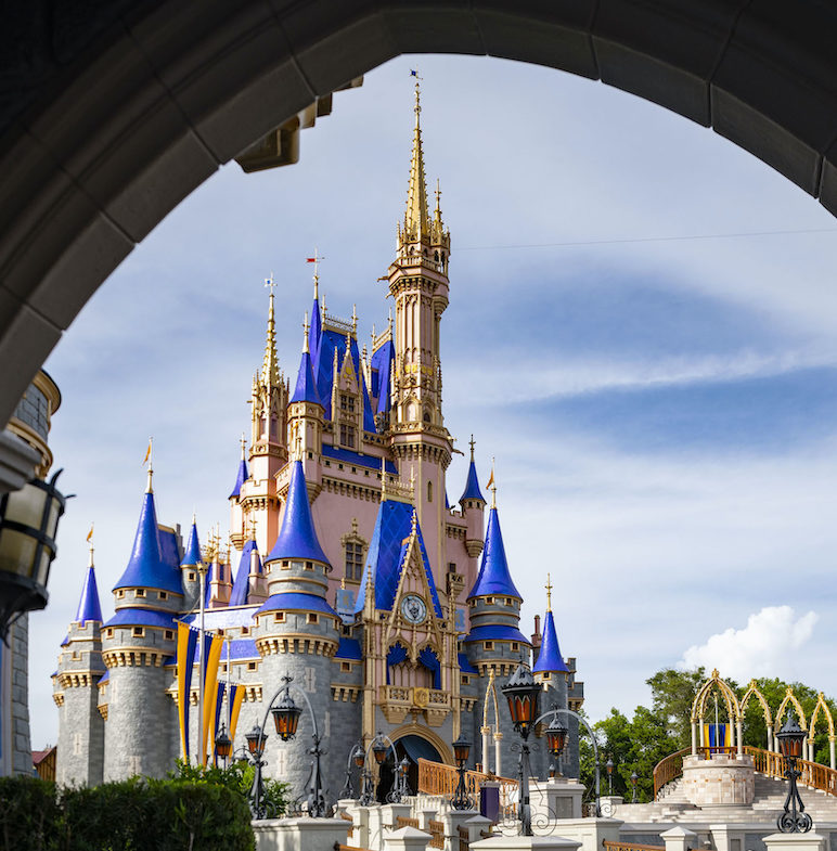 The iconic Cinderella Castle.