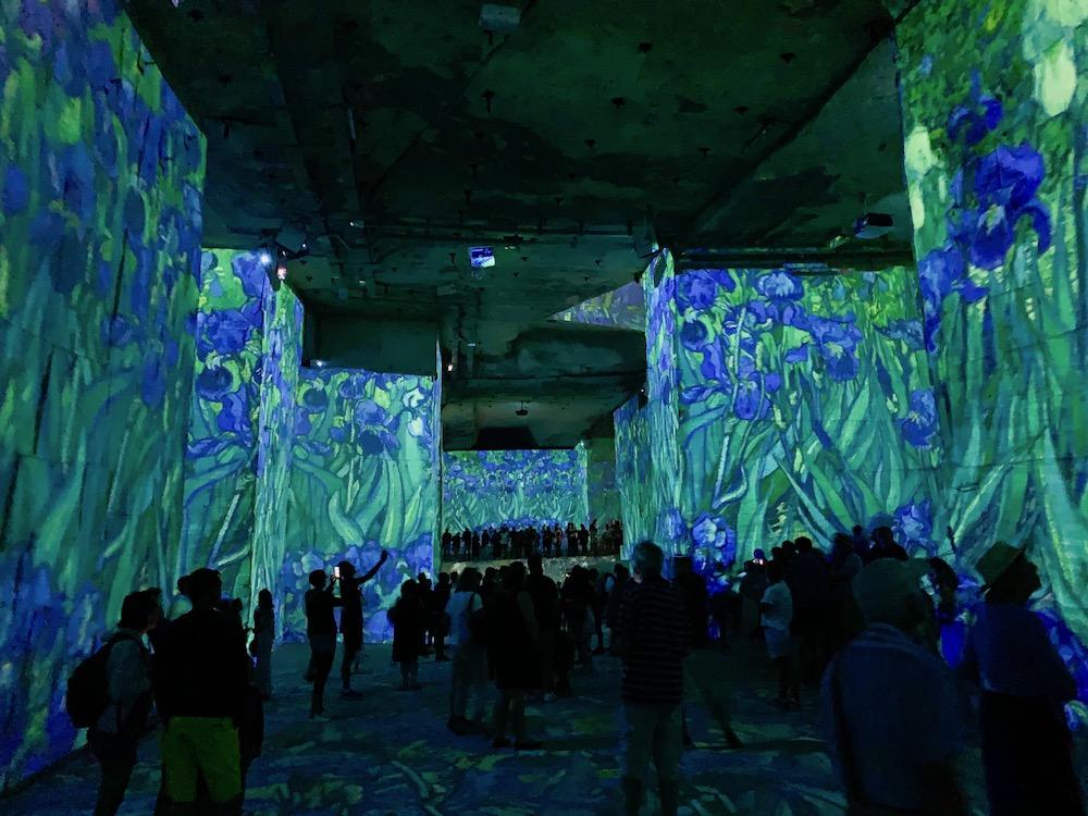 The immersive Van Gogh exhibit.