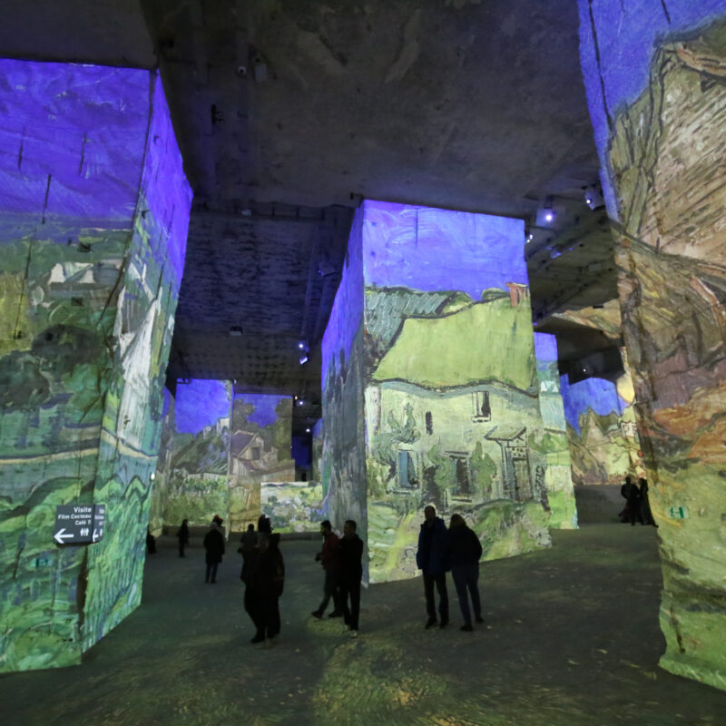 The immersive Van Gogh experience.