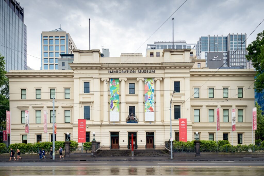 The Immigration Museum in Melbourne.