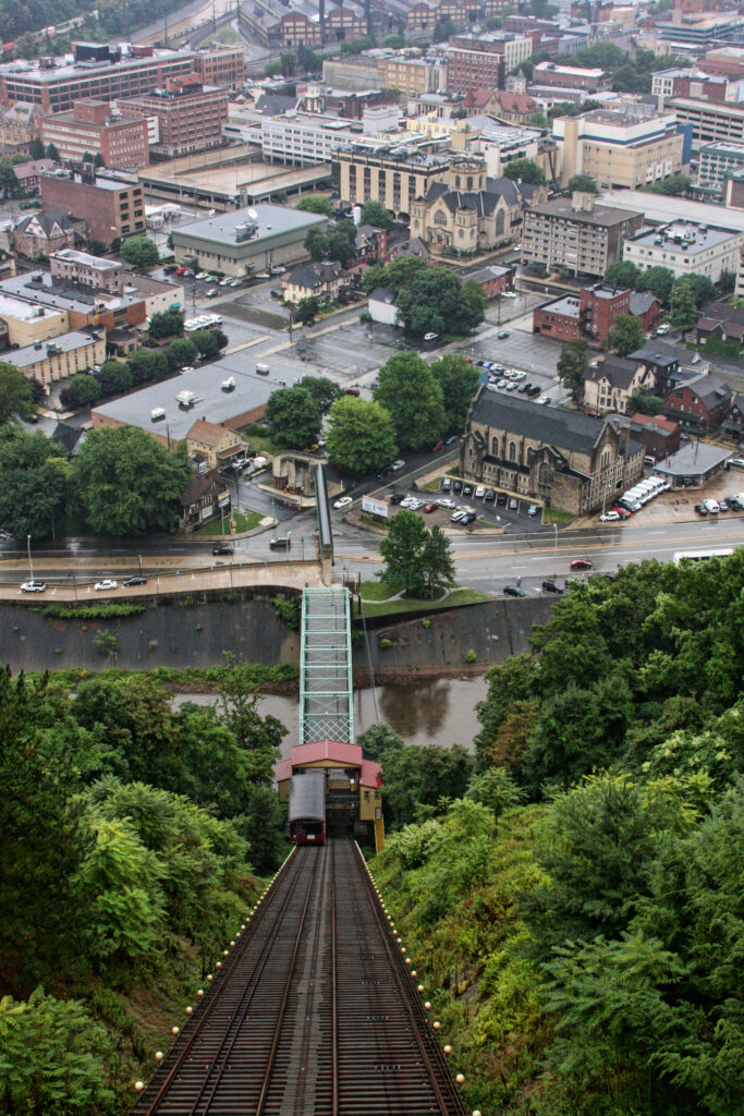The Incline Plane in Johnstown, Pennsylvania.